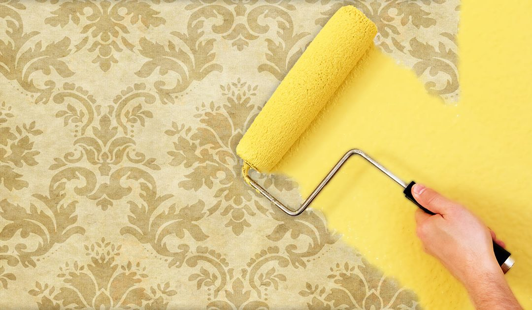 Can You Paint Over Wallpaper? Yes [6 Step Guide]
